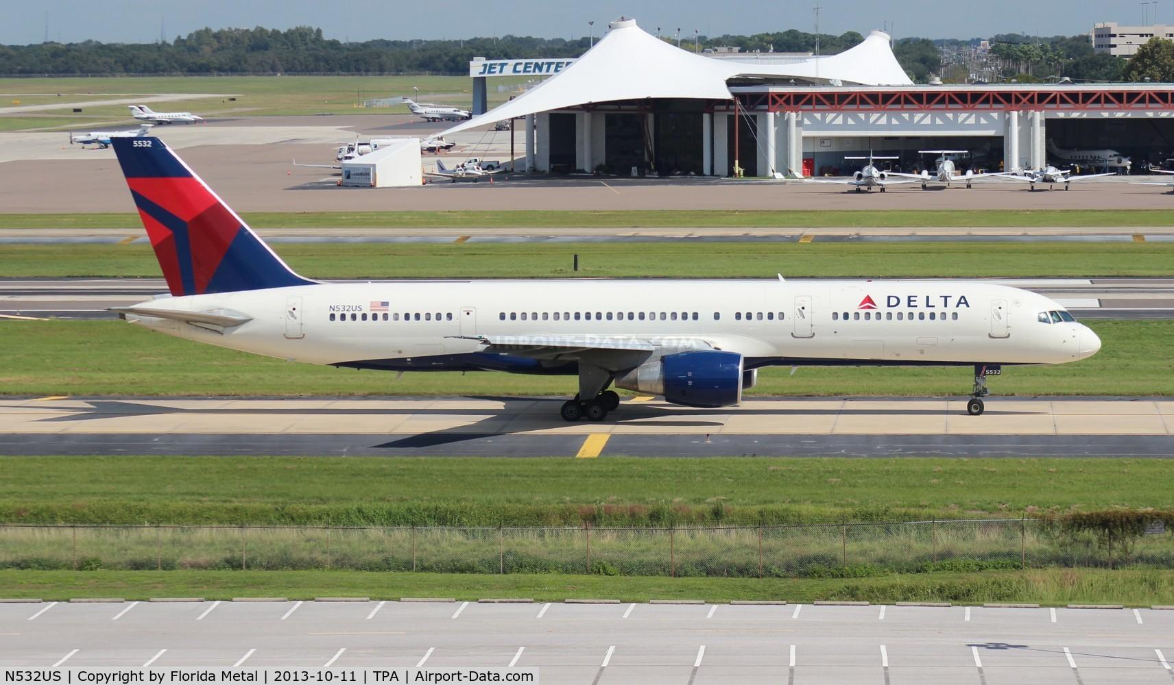 N532US, 1988 Boeing 757-251 C/N 24263, Delta 757-200