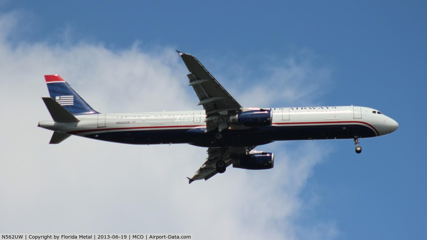 N562UW, 2012 Airbus A321-231 C/N 5332, US Airways A321
