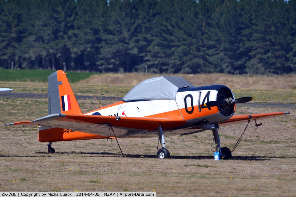 ZK-WJL, Commonwealth CA-25 Winjeel C/N CA25-04, At Taupo