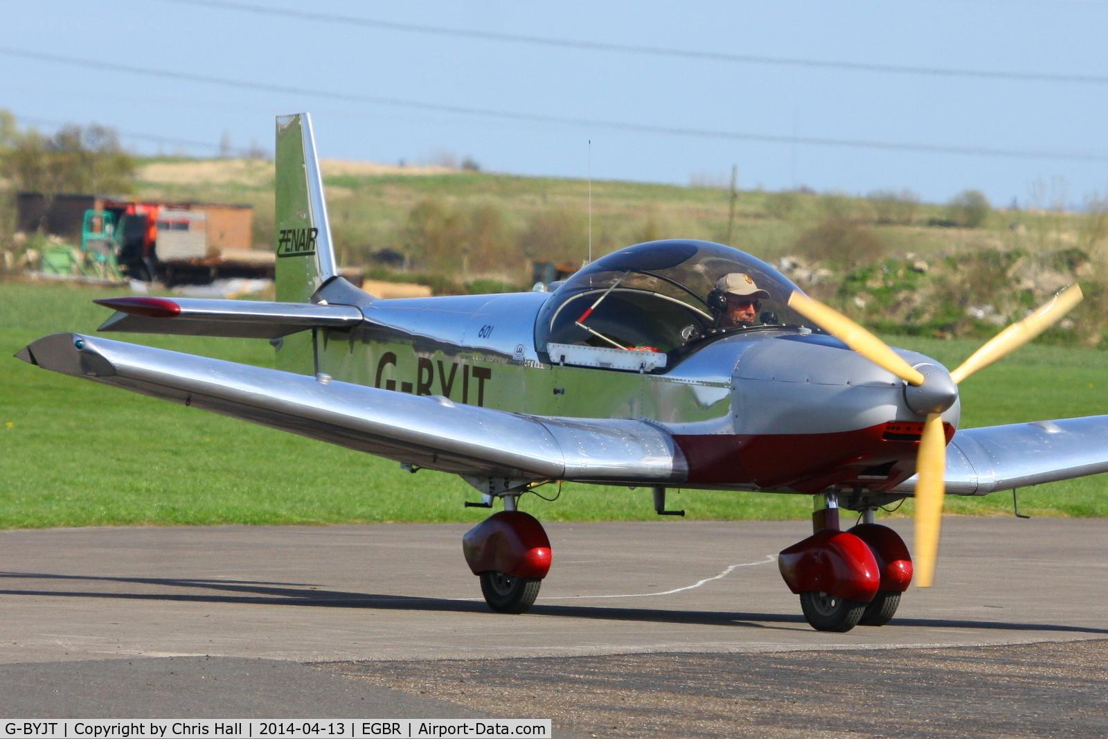 G-BYJT, 1999 Zenair CH-601HD C/N PFA 162-13130, at Breighton's 'Early Bird' Fly-in 13/04/14