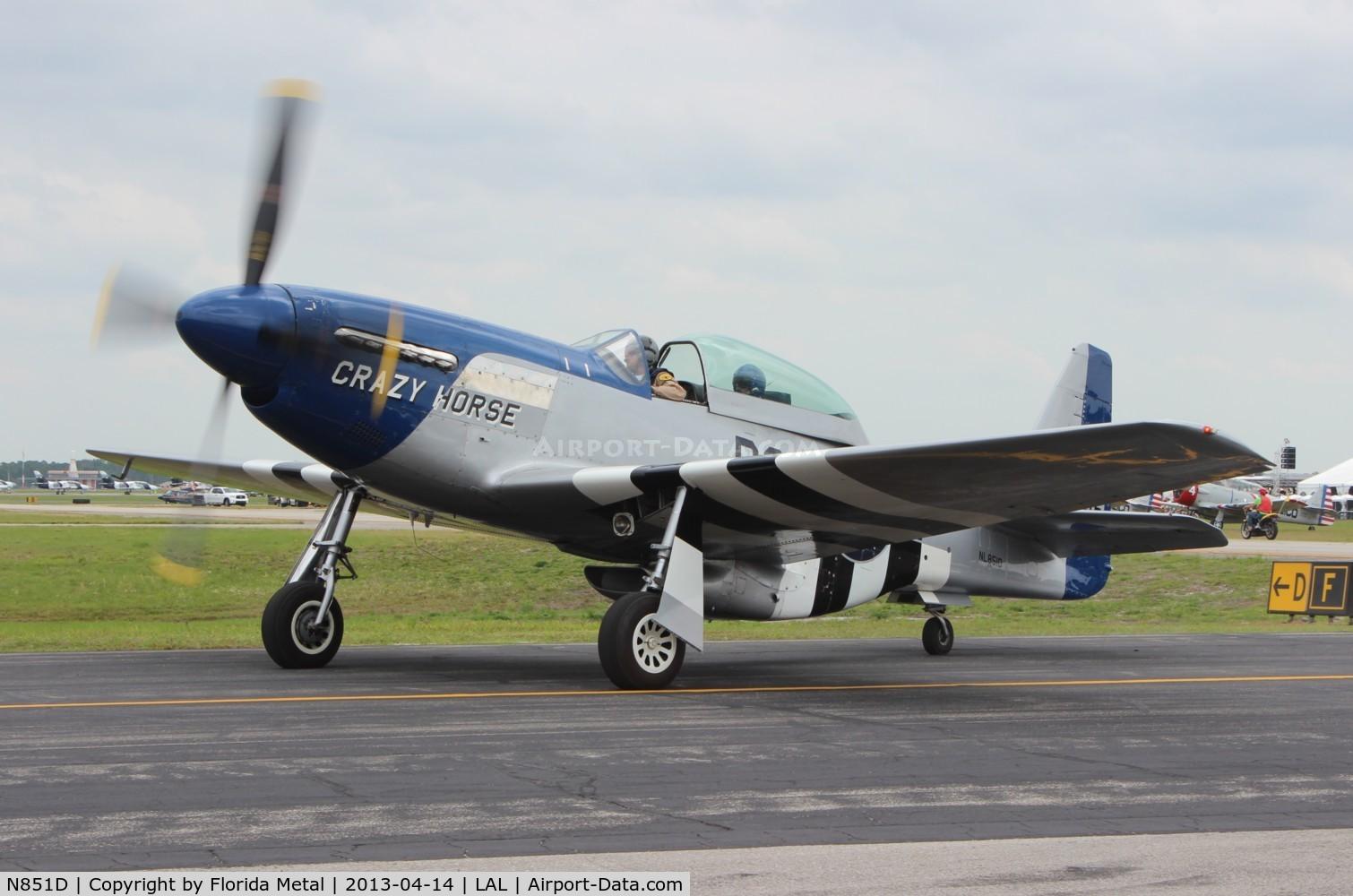 N851D, 1944 North American P-51D Mustang C/N 44-84745, Crazy Horse P-51D