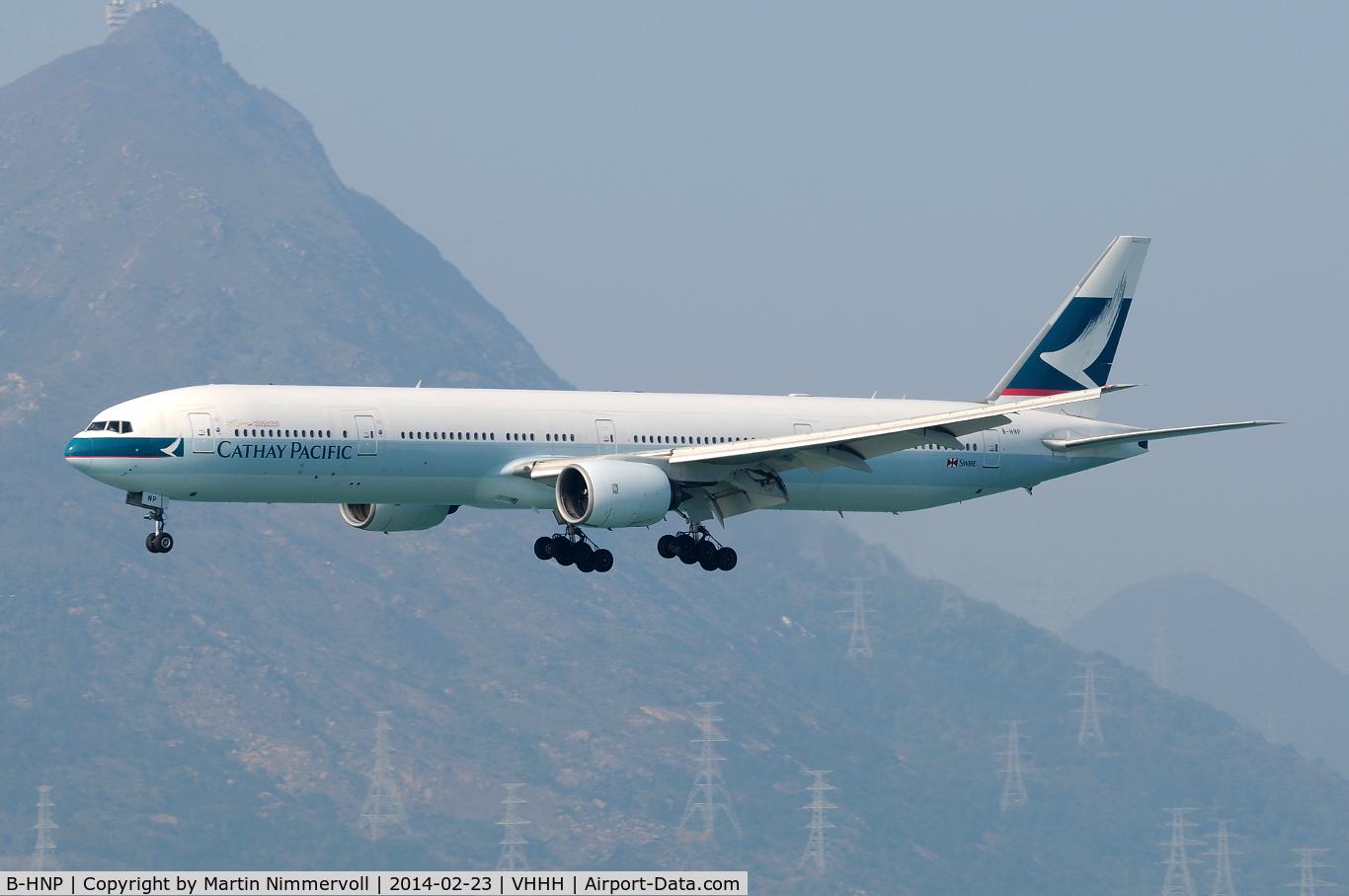 B-HNP, 2005 Boeing 777-367 C/N 34243, Cathay Pacific