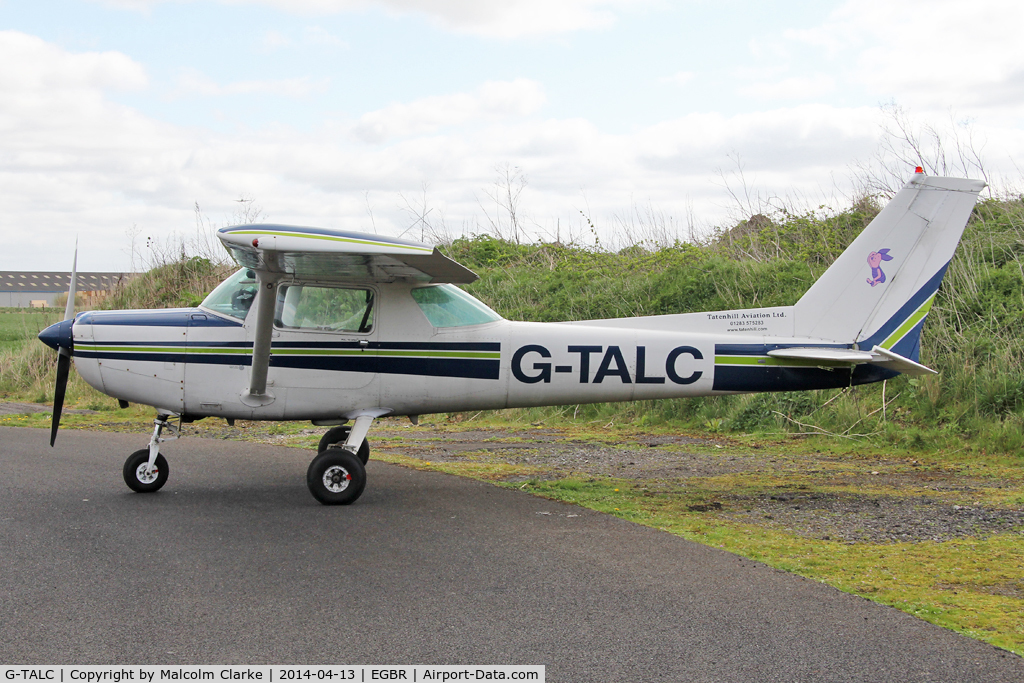 G-TALC, 1981 Cessna 152 C/N 152-84941, Cessna 152 at The Real Aeroplane Club's Early Bird Fly-In, Breighton Airfield, April 2014.