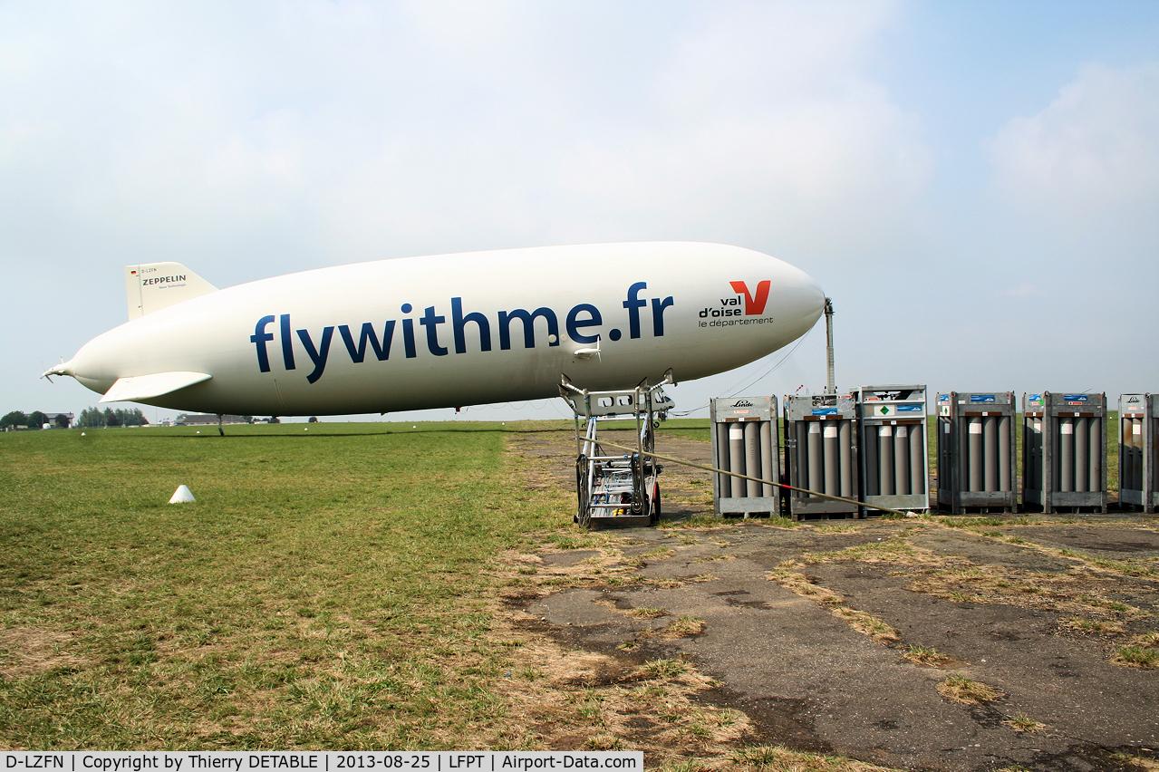 D-LZFN, 1997 Zeppelin LZ N07-100 Airship C/N 001, AIRSHIP PARIS 2013   Stock of Helium Gaz