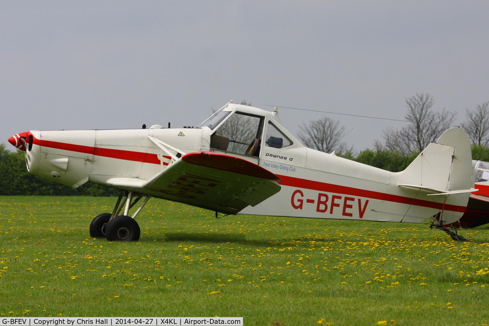 G-BFEV, 1977 Piper PA-25-235 Pawnee C/N 25-7756060, Trent Valley Gliding Club, Kirton in Lindsay