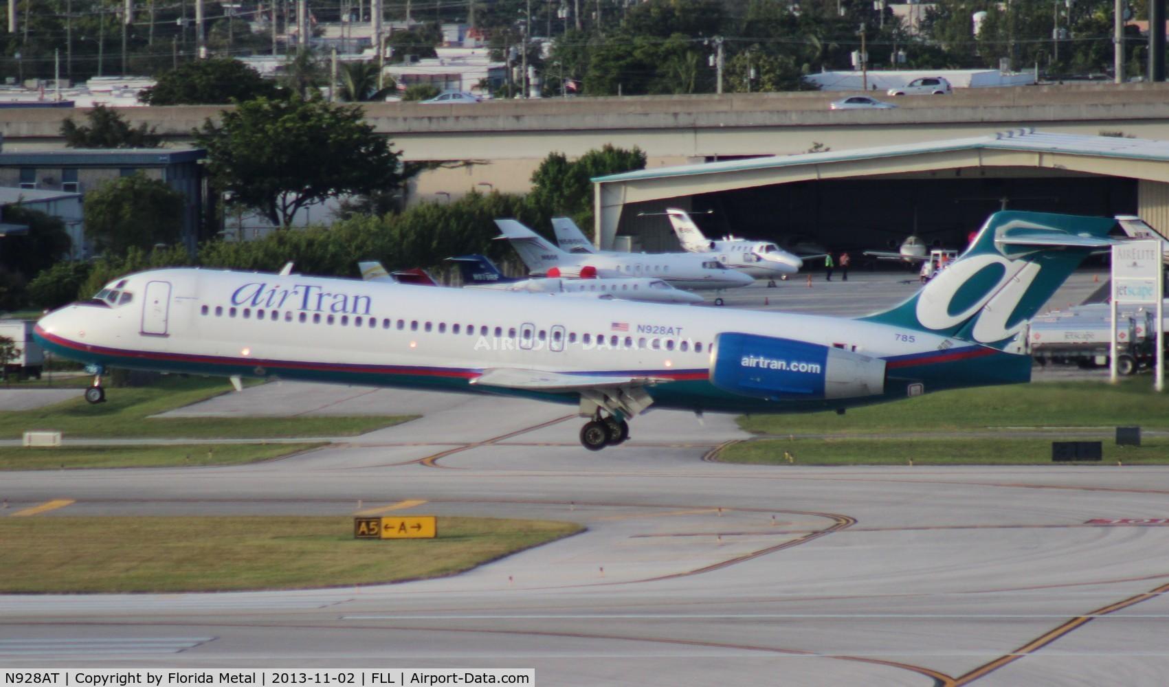 N928AT, 2000 Boeing 717-200 C/N 55076, Air Tran 717