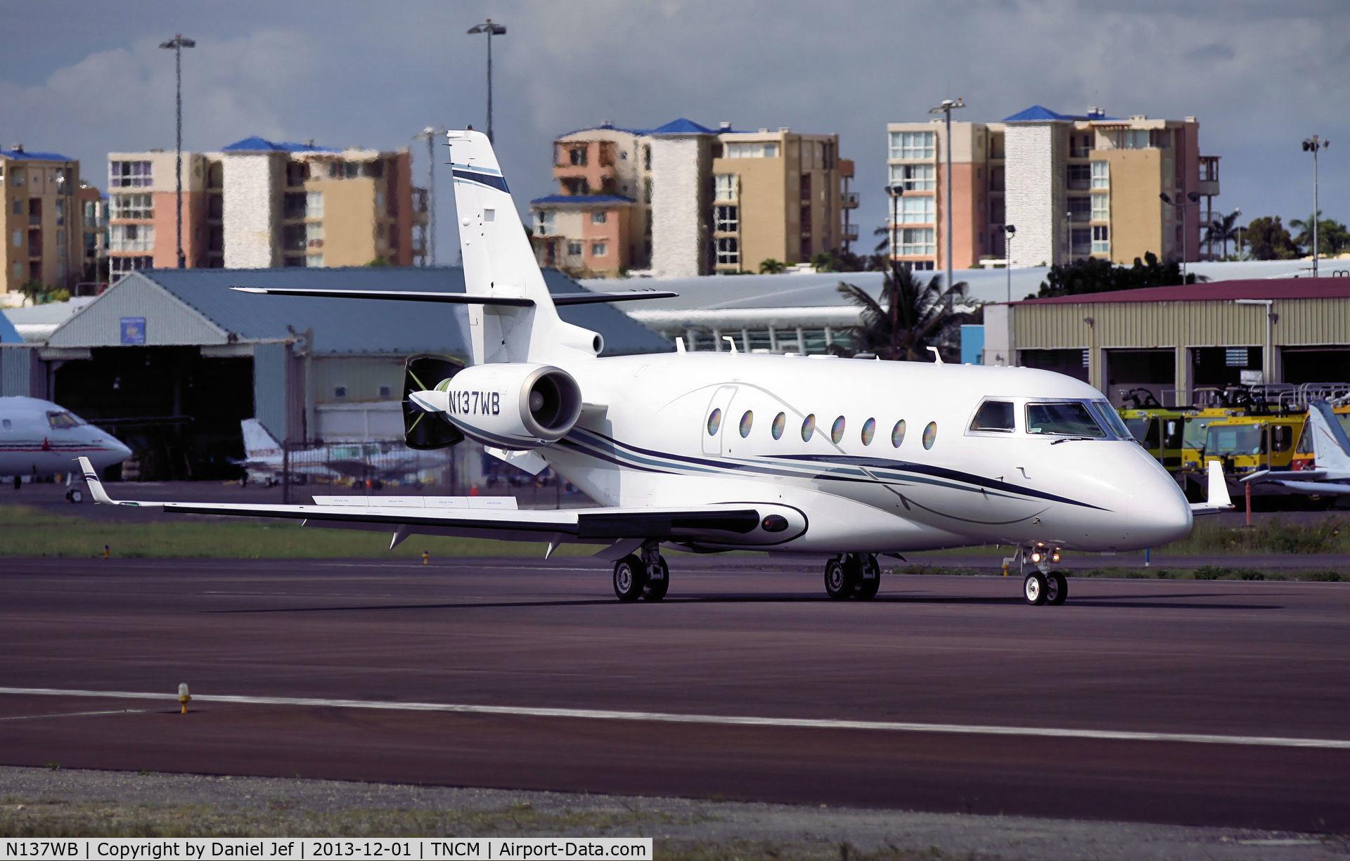 N137WB, 2006 Israel Aircraft Industries Gulfstream 200 C/N 137, N137WB