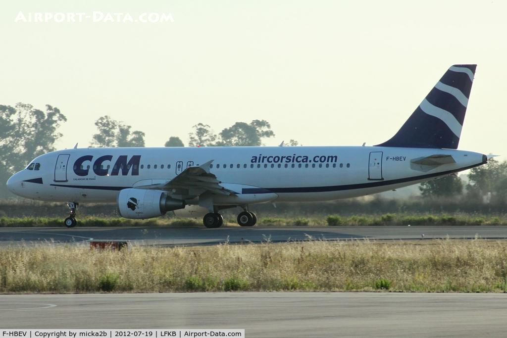 F-HBEV, 2009 Airbus A320-214 C/N 3952, Taxiing