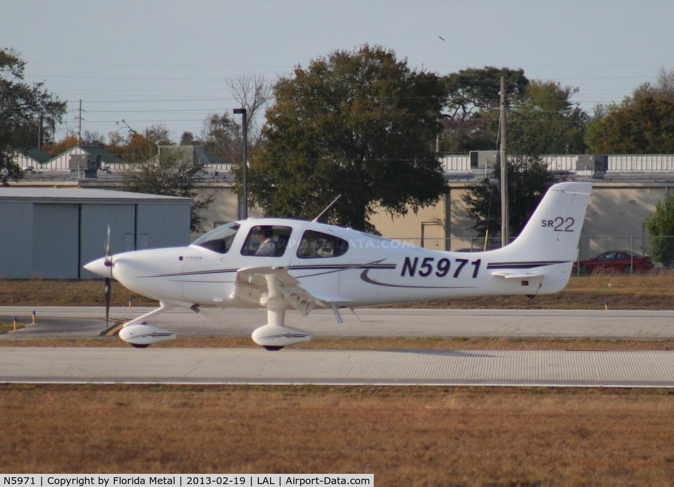 N5971, 2012 Cirrus SR22 C/N 3900, Cirrus SR22