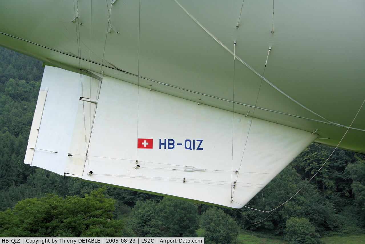 HB-QIZ, 1986 Airship Industries Skyship 600 C/N 1215/05, Skycruise Switzerland 2005