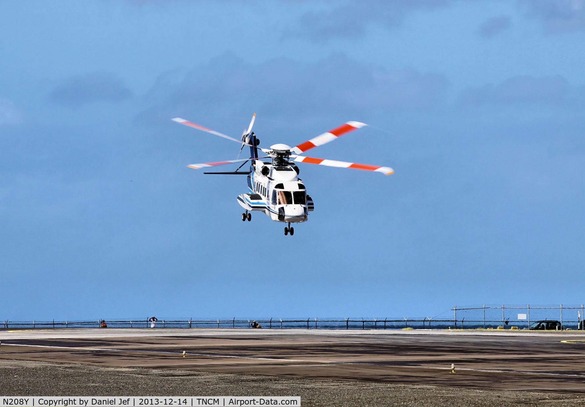 N208Y, 2013 Sikorsky S-92A C/N 920208, N208Y