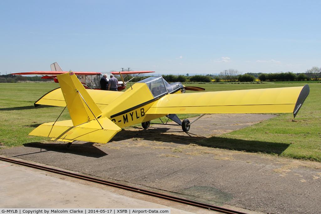 Aircraft G-MYLB (1993 Team Mini-Max 91 C/N PFA 186-12419) Photo by
