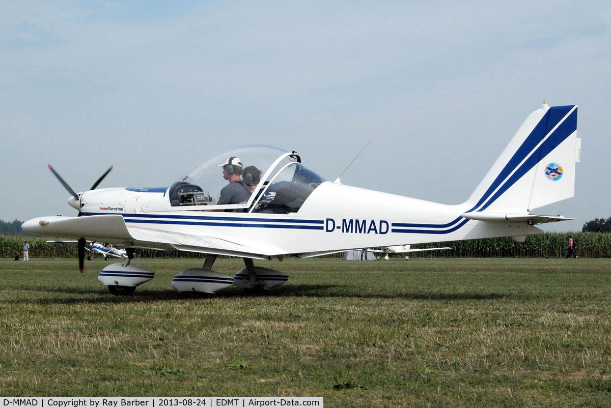 D-MMAD, 2004 Evektor EV-97 Eurostar C/N 2004-2218, Evektor EV-97 Team EuroStar [2004-2218] Tannheim~D 24/08/2013
