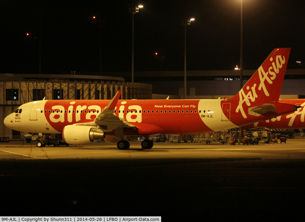 9M-AJL, 2014 Airbus A320-216 C/N 6105, Delivery day...