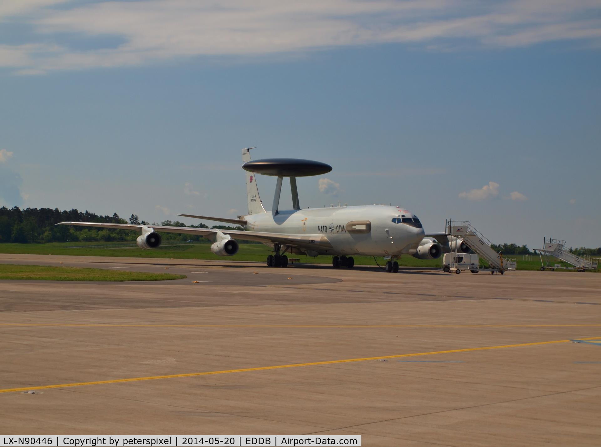 LX-N90446, 1982 Boeing E-3A Sentry C/N 22841, ILA Berlin Air Show 2014 Nato - Otan