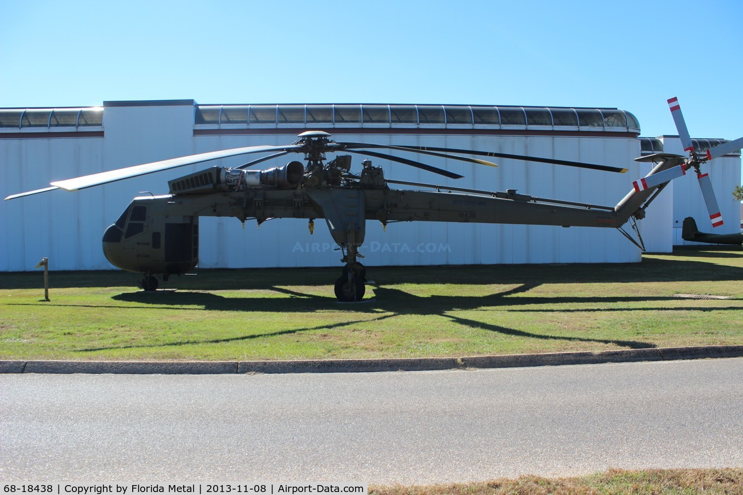 68-18438, 1968 Sikorsky CH-54A Tarhe C/N 64.040, CH-54 Tarhe at Army Aviation Museum