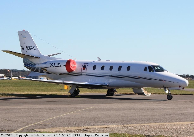 M-BWFC, Cessna 560XL Citation XLS C/N 560-5690, At CSE