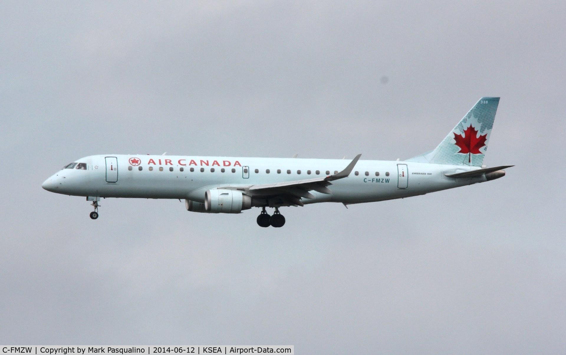 C-FMZW, Embraer 190AR (ERJ-190-100IGW) C/N 19000124, ERJ-190-100 IGW