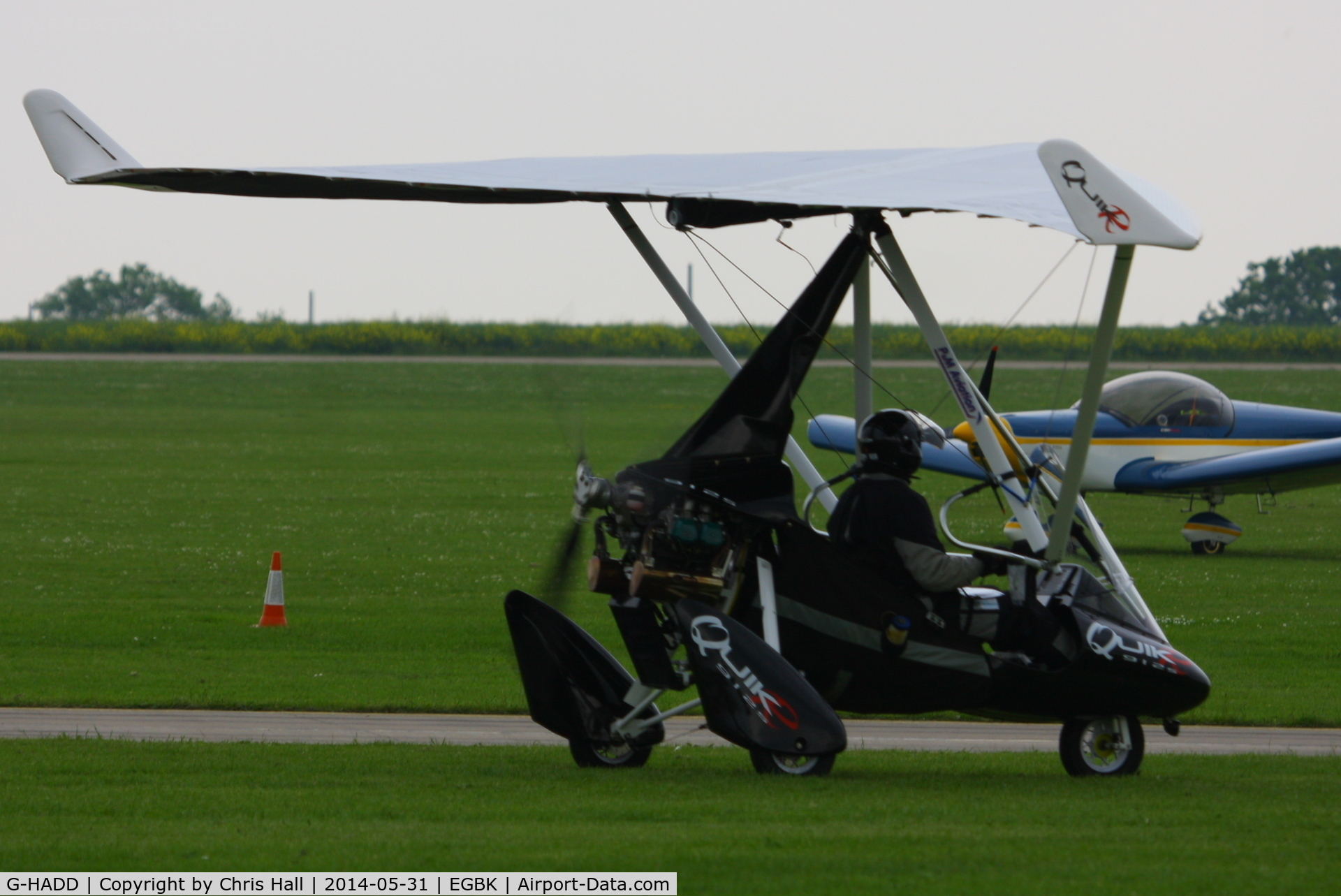 G-HADD, 2010 P&M Aviation QuikR C/N 8510, at AeroExpo 2014