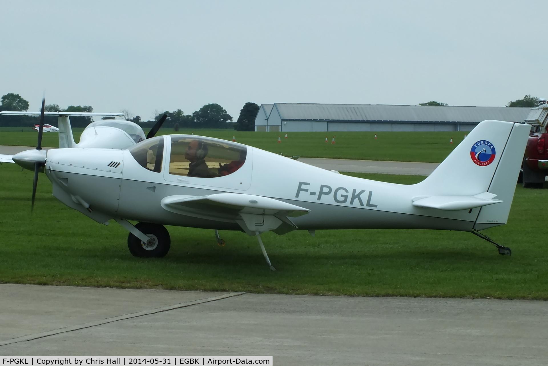 F-PGKL, Europa XS Monowheel C/N 395, at AeroExpo 2014