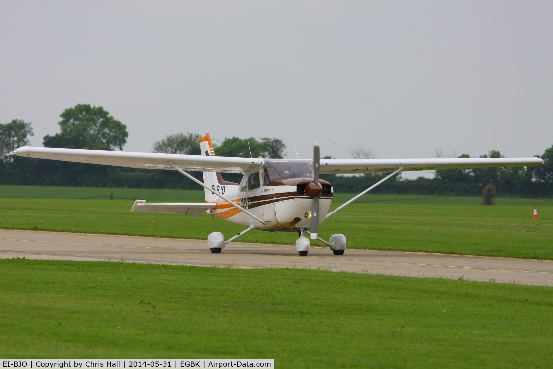 EI-BJO, Cessna R172K Hawk XP C/N R1723340, at AeroExpo 2014