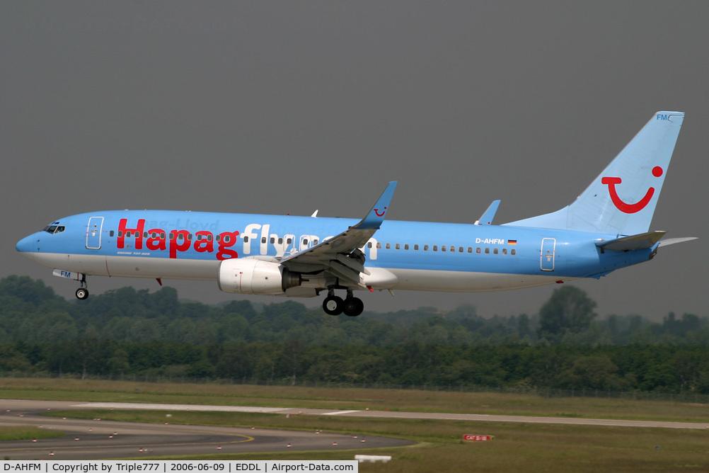 D-AHFM, 2000 Boeing 737-8K5 C/N 27986, Boeing 737-800 Hapag Lloyd