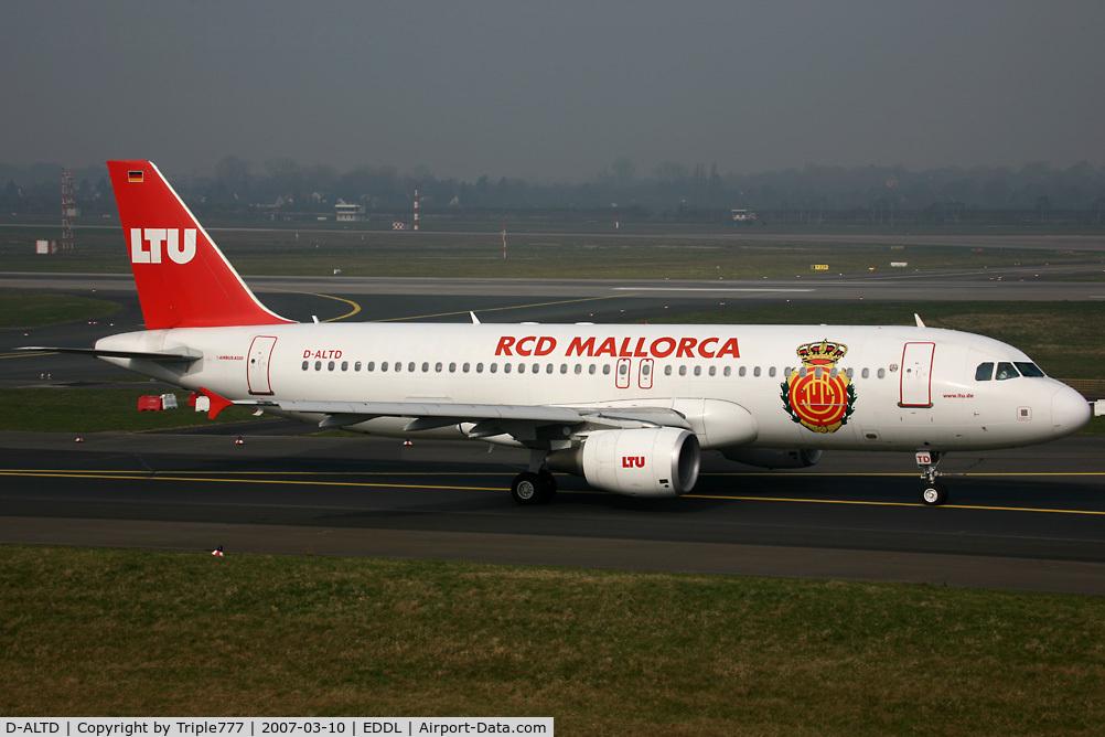 D-ALTD, 2001 Airbus A320-214 C/N 1493, Airbus 320 LTU