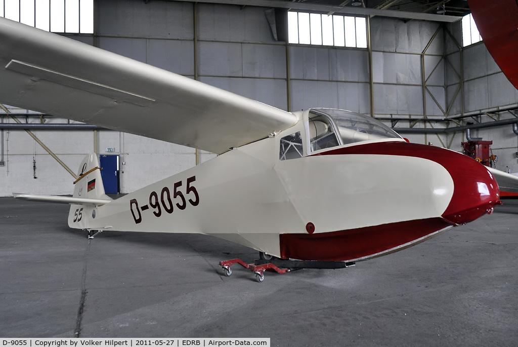 D-9055, Scheibe L-Spatz 55 C/N Not found D-9055, at aero expo