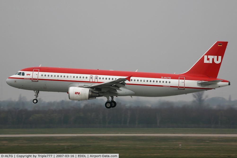 D-ALTG, 2002 Airbus A320-214 C/N 1762, Airbus 320 LTU