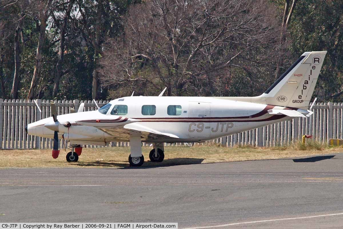 C9-JTP, 1976 Piper PA-31T Cheyenne C/N 31T-7620012, Piper PA-31T Cheyenne II [31T-7620012] (Reliance Group) Johannesburg-Rand~ZS 21/09/2006
