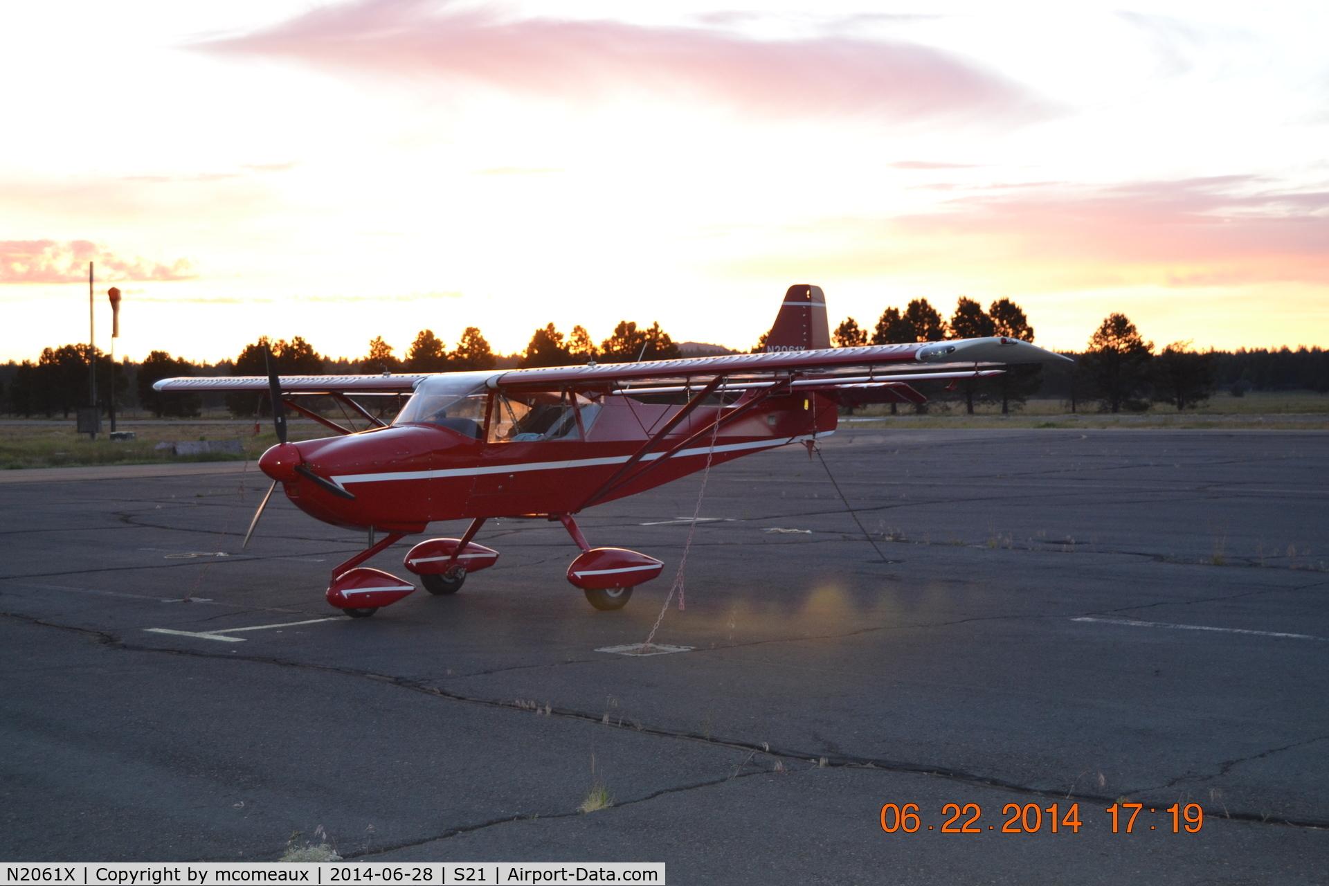 N2061X, 2003 Skystar Kitfox Series 7 C/N F60111-071, 2003 Kitfox 7