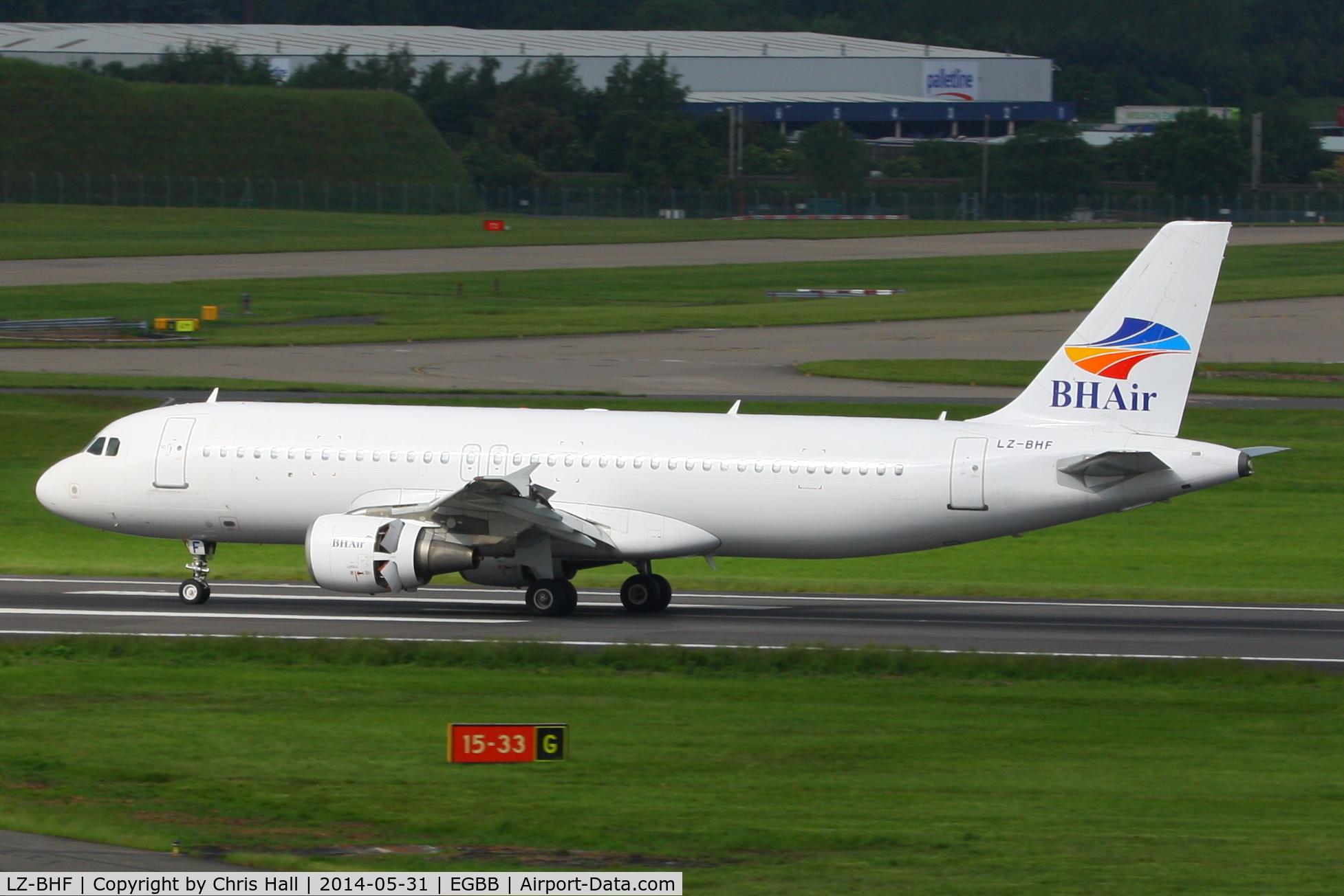 LZ-BHF, 1999 Airbus A320-214 C/N 1087, Balkan Holidays Air