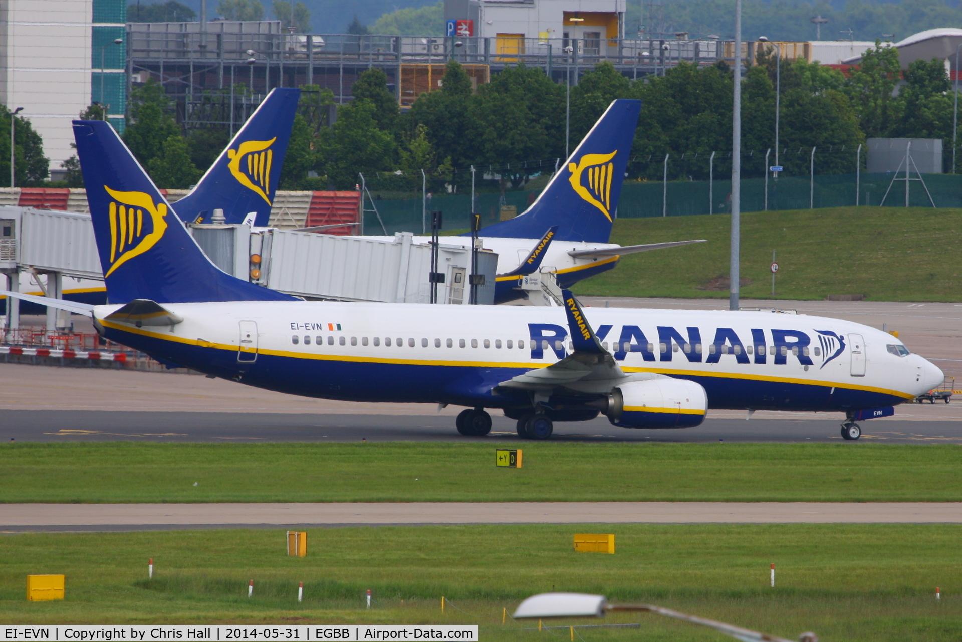 EI-EVN, 2012 Boeing 737-8AS C/N 40294, Ryanair