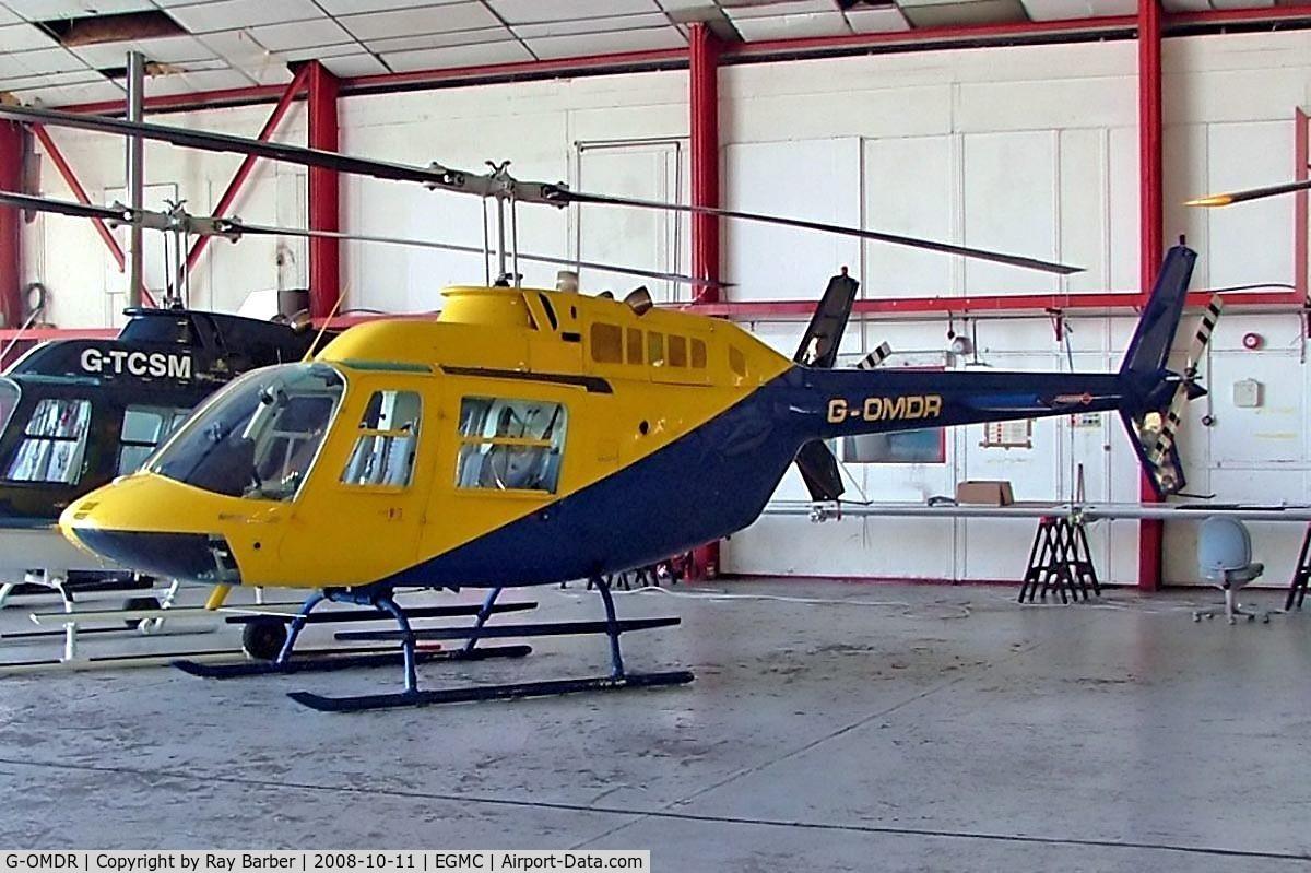 G-OMDR, 1981 Agusta AB-206B JetRanger II C/N 8610, Agusta-Bell AB-206B-3 Jet Ranger III [8610] Southend~G 11/10/2008