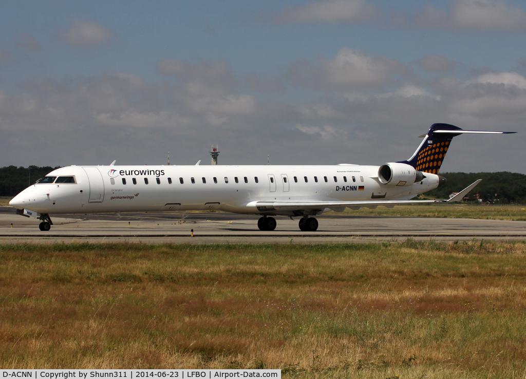 D-ACNN, 2010 Bombardier CRJ-900LR (CL-600-2D24) C/N 15254, Taxiing to the Terminal...