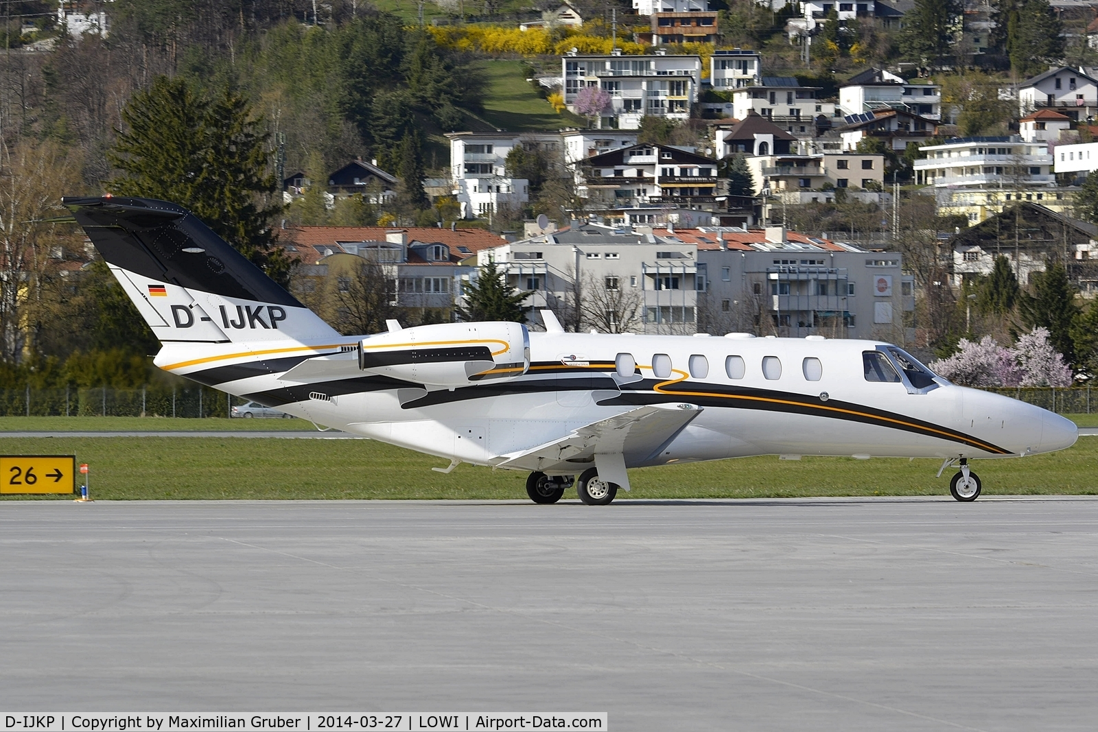 D-IJKP, 2008 Cessna 525A CitationJet CJ2 C/N 525A-0433, Private