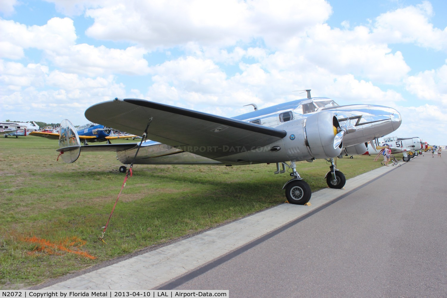N2072, 1936 Lockheed 12A Electra Junior C/N 1208, Lockheed 12A Electra Jr