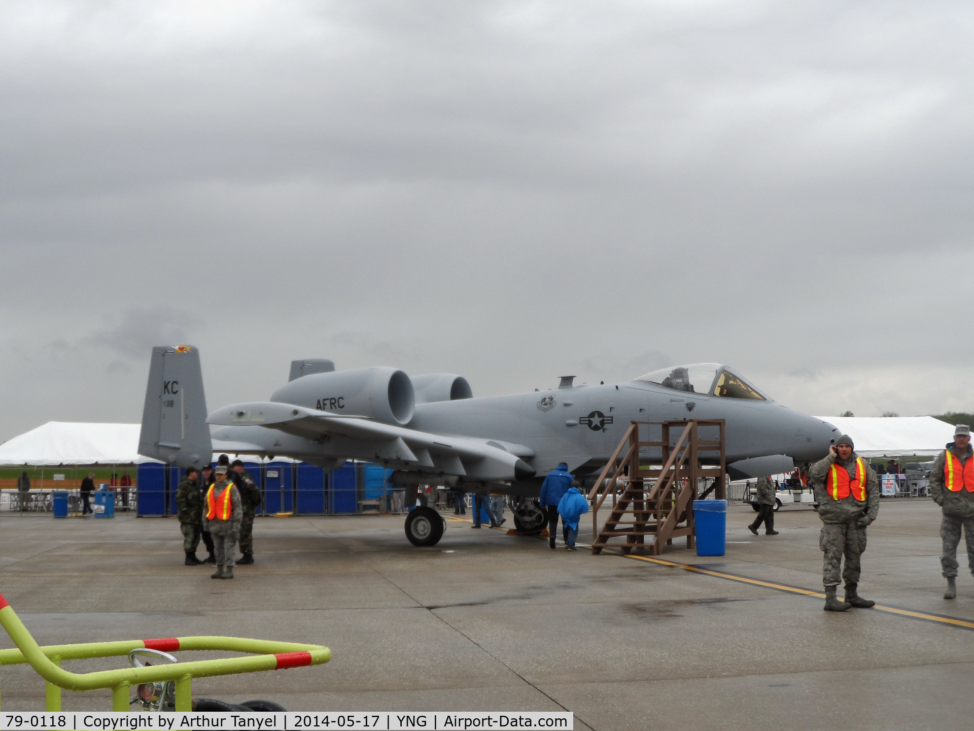 79-0118, 1979 Fairchild Republic A-10C Thunderbolt II C/N A10-0382, On display @ the 2014 Youngstown Airshow