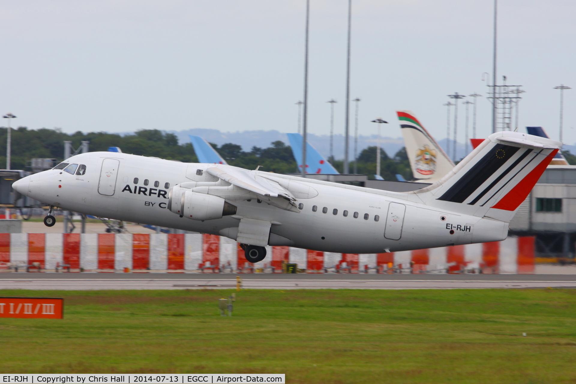 EI-RJH, 1999 BAE Systems Avro 146-RJ85 C/N E.2345, CityJet