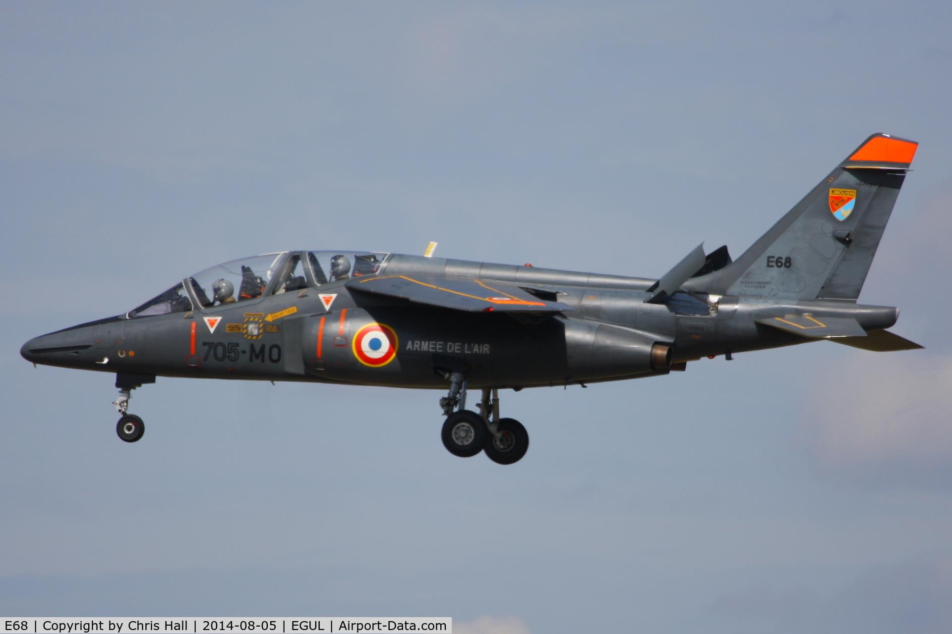 E68, Dassault-Dornier Alpha Jet E C/N E68, Armée de l'Air
