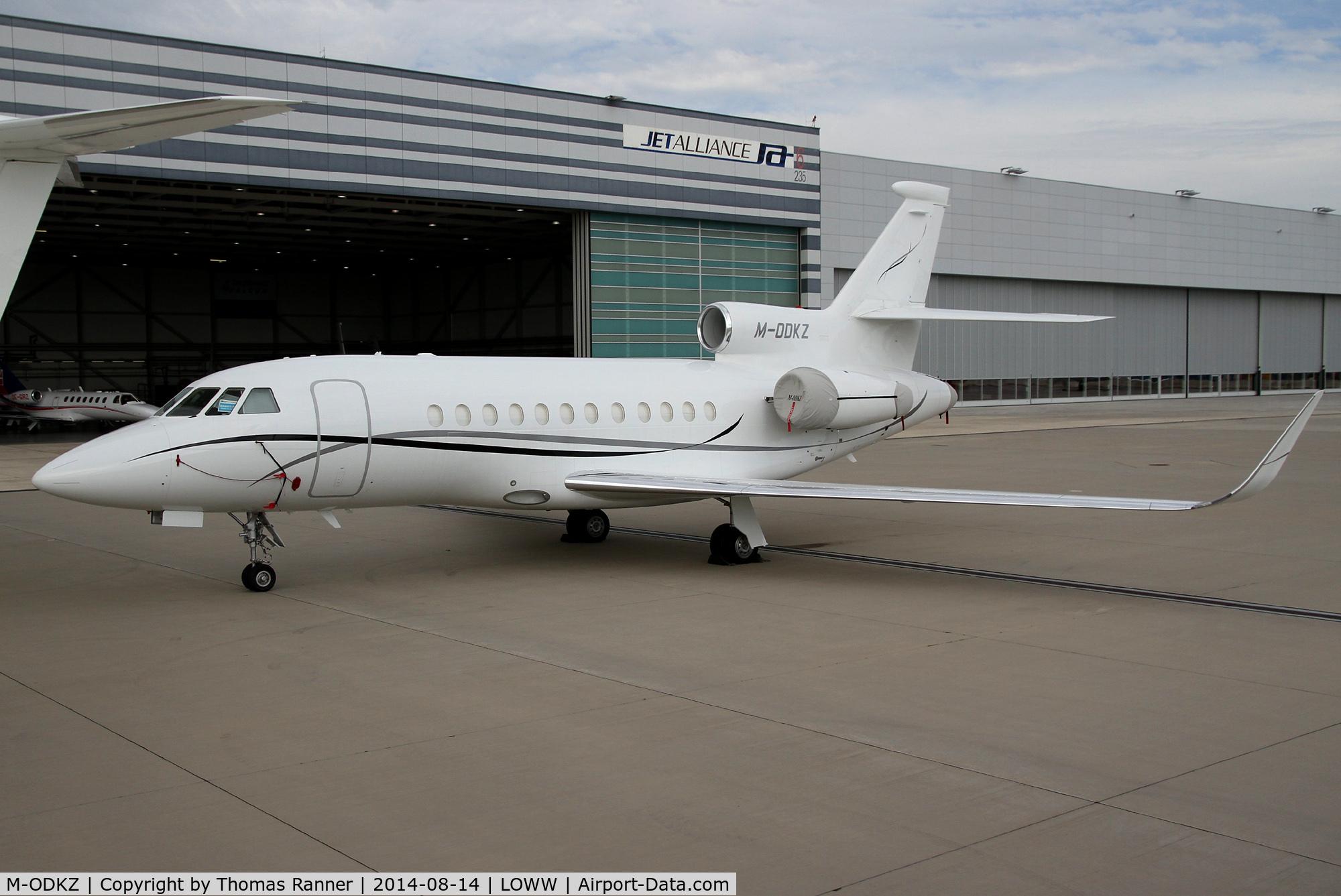 M-ODKZ, 2001 Dassault Falcon 900EX C/N 86, Falcon 900