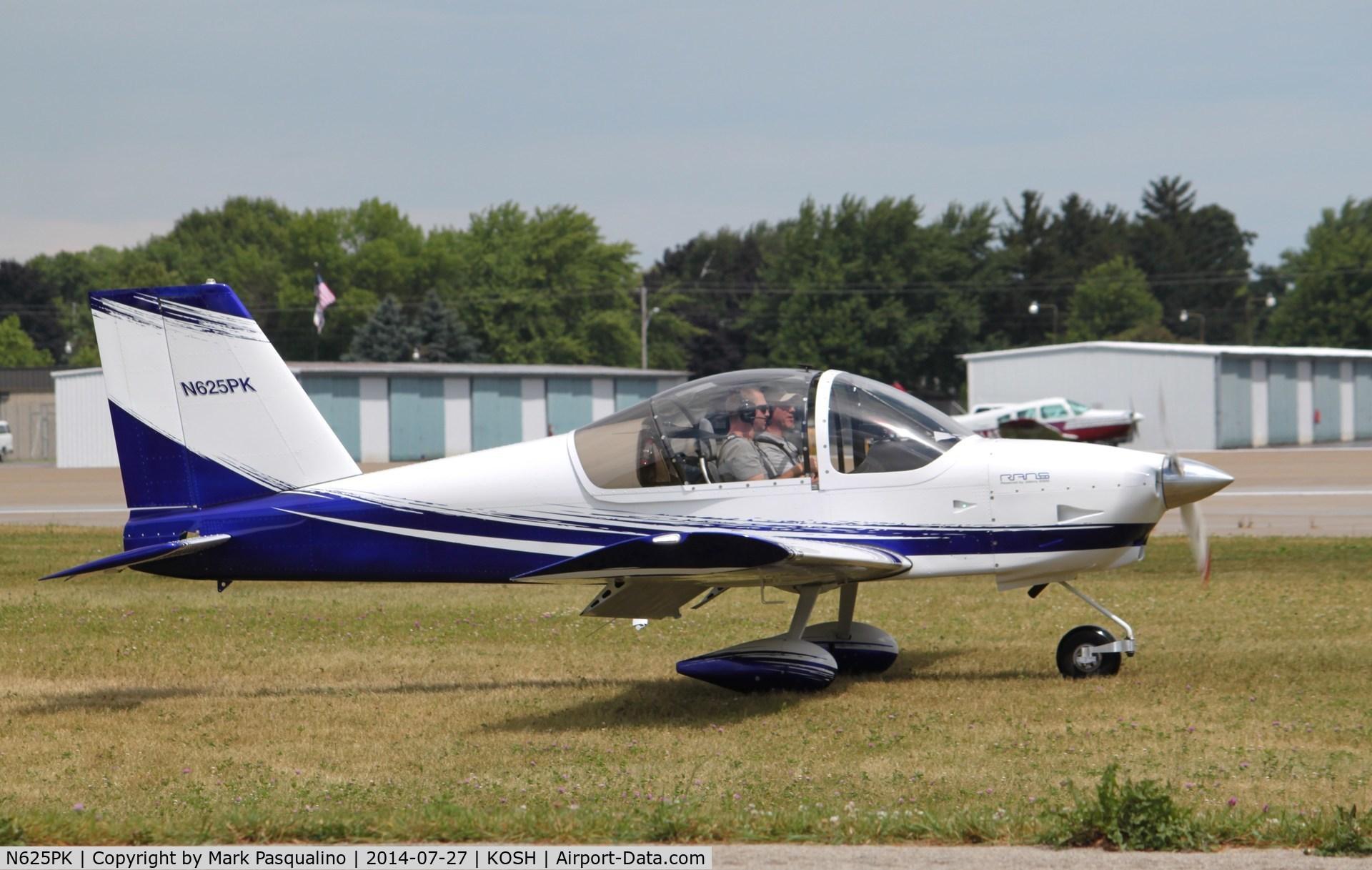 Aircraft N625PK (Rans S-19 Venterra C/N 090800034) Photo by