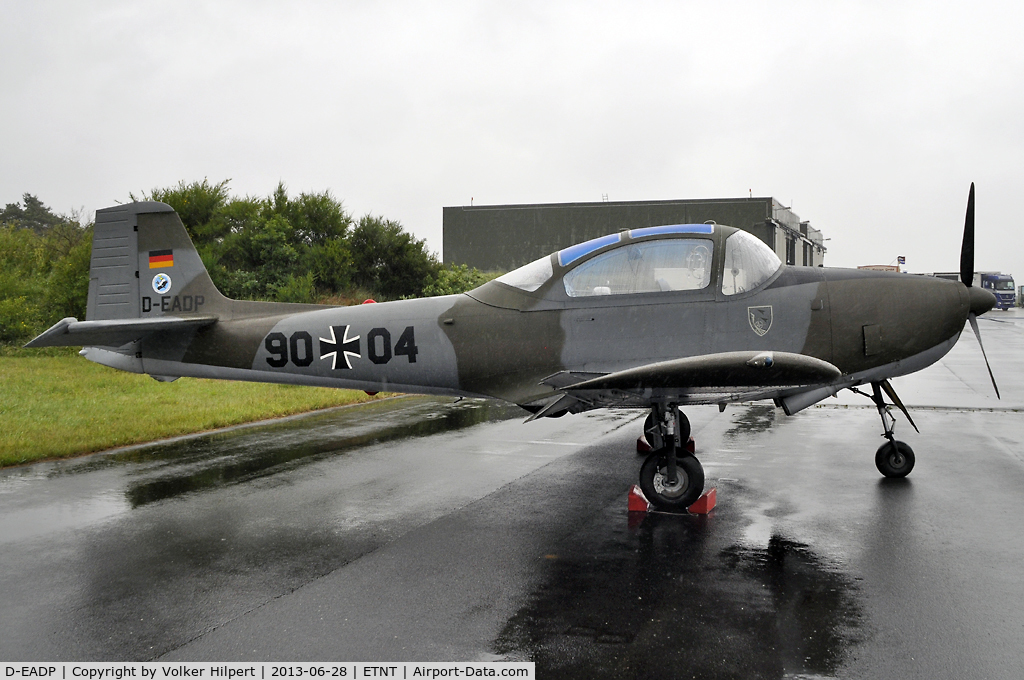 D-EADP, Piaggio 149D C/N 009, at Wittmund
