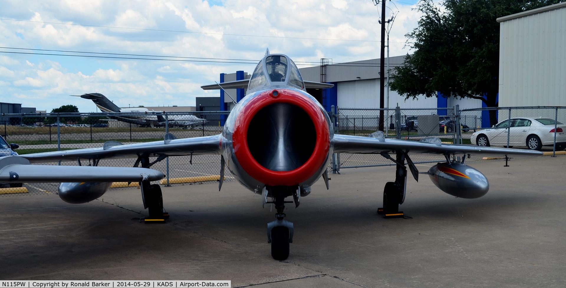 N115PW, 1955 Mikoyan-Gurevich SB LIM-2 C/N 512036, Cavanaugh Flight Museum Addison, TX