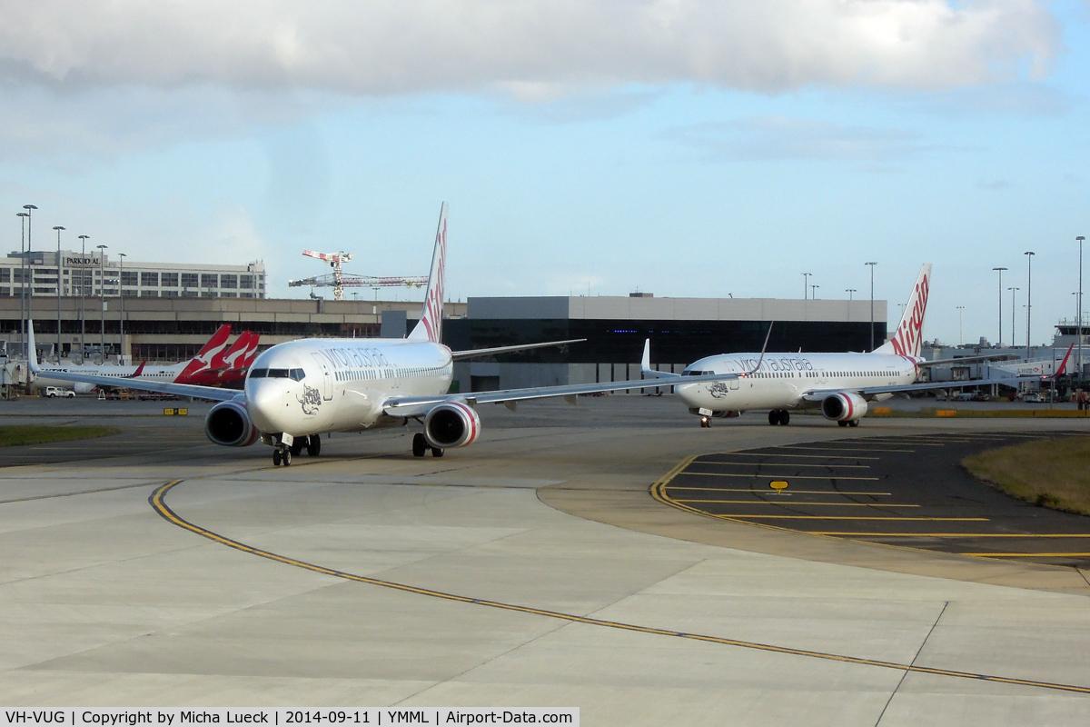 VH-VUG, 2006 Boeing 737-8FE C/N 34438, VH-VUG and VH-VUC