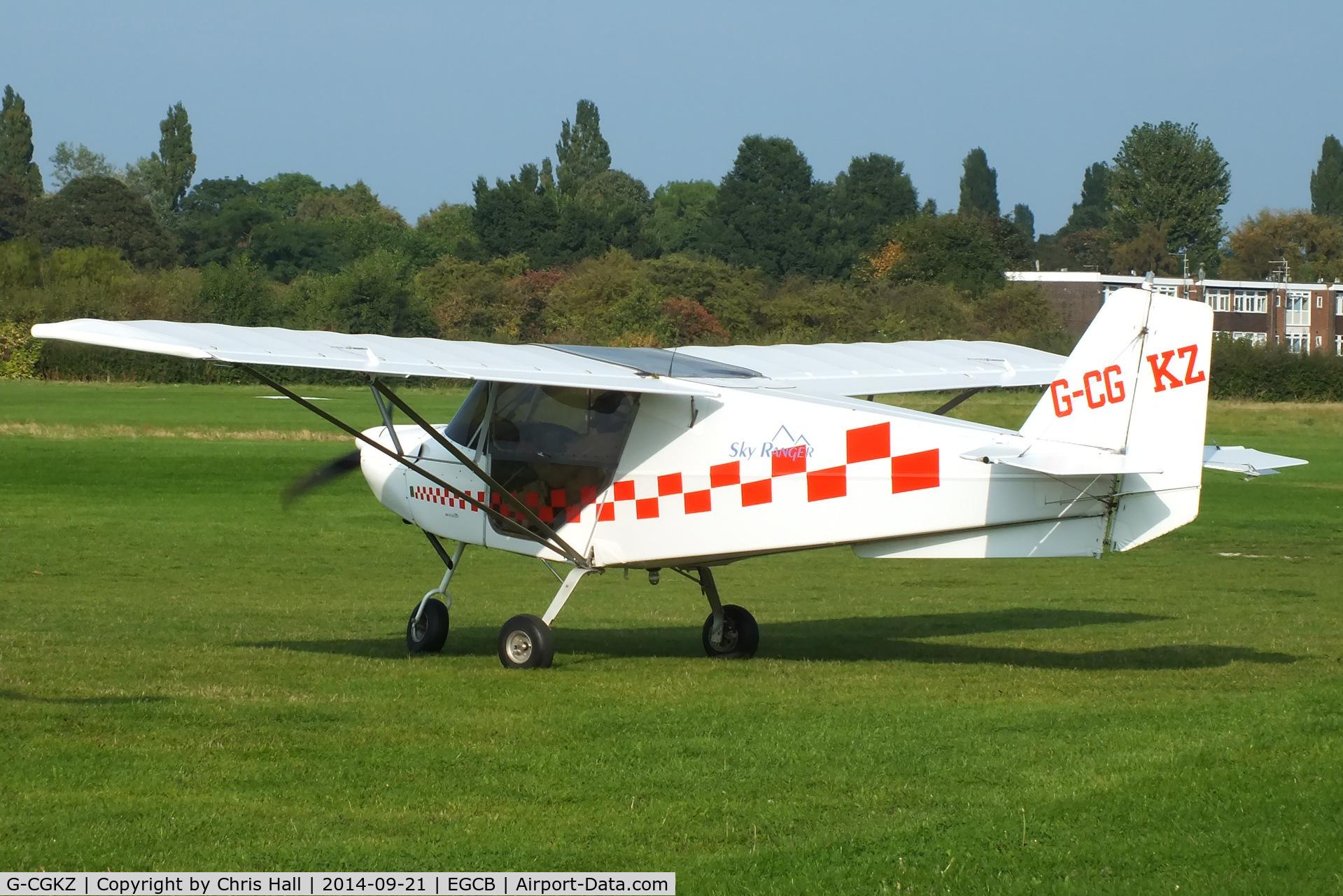 G-CGKZ, 2010 Best Off Skyranger Swift 912S(1) C/N BMAA/HB/596, visitor at Barton