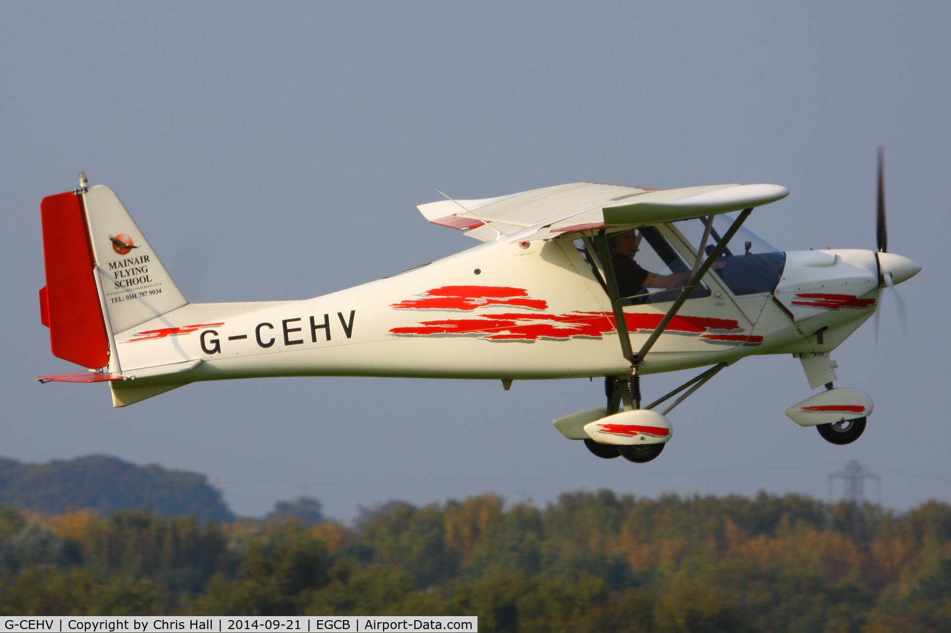 G-CEHV, 2006 Comco Ikarus C42 FB80 C/N 0610-6854, Mainair Microlight School