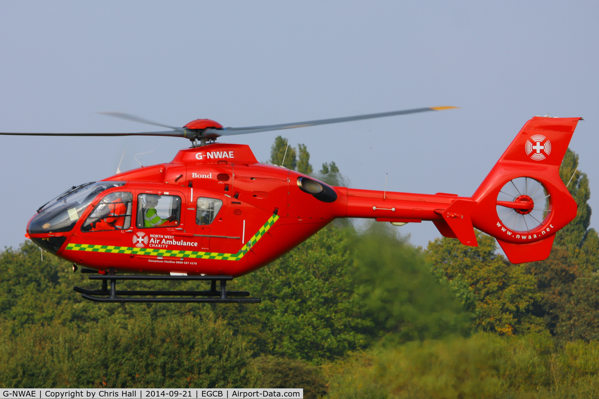 G-NWAE, 2003 Eurocopter EC-135T-2 C/N 0312, North West Air Ambulance