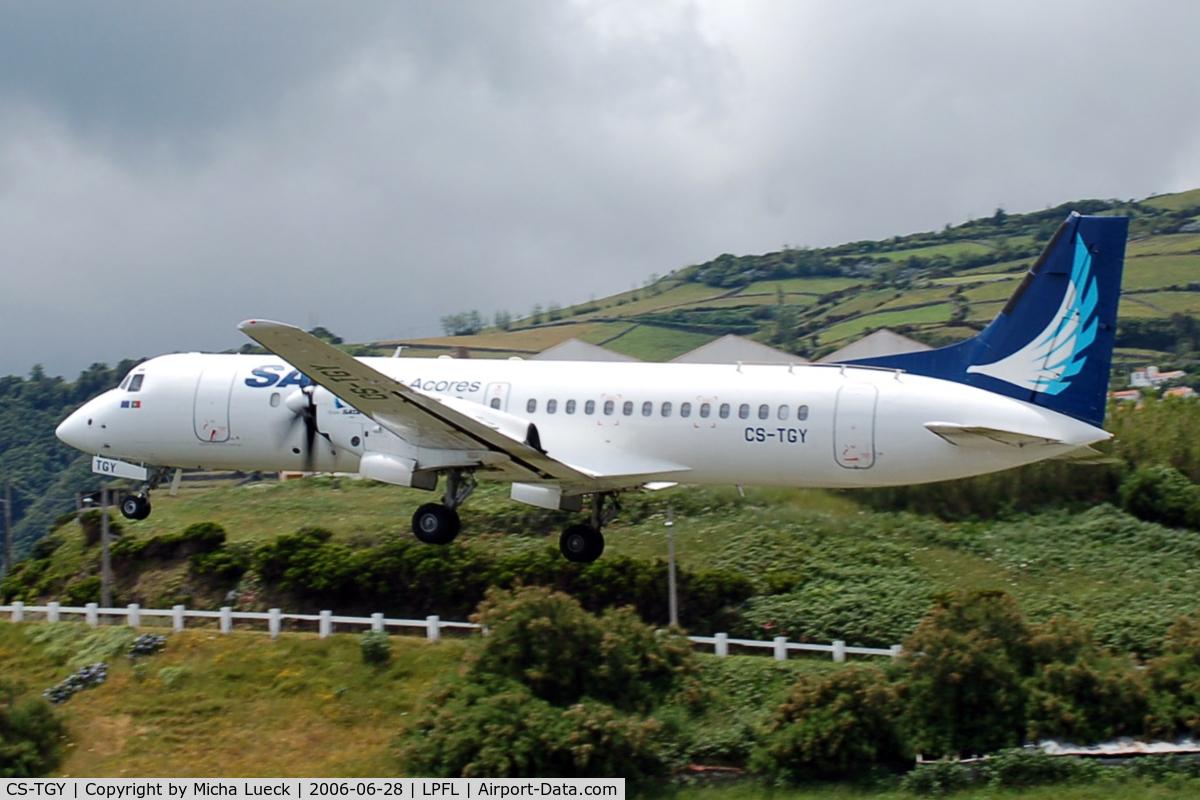 CS-TGY, 1992 British Aerospace ATP C/N 2049, At Flores