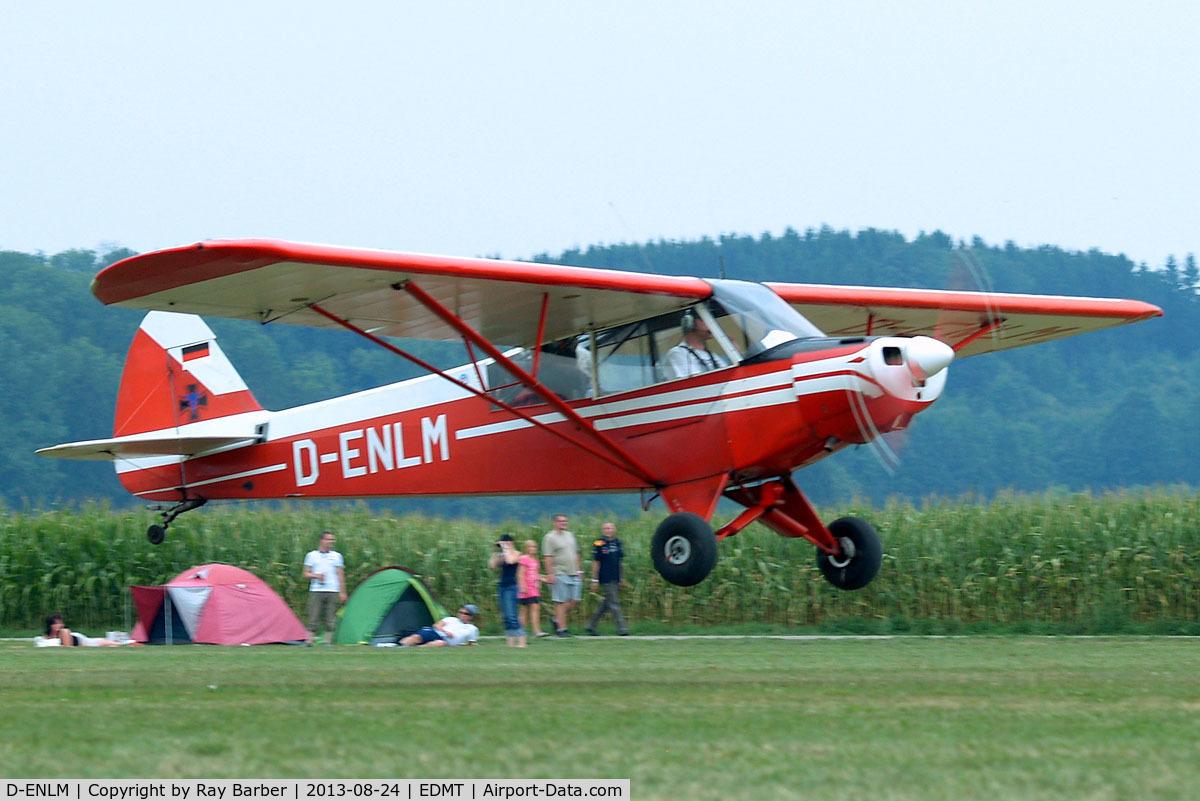 D-ENLM, 1952 Piper L-18C Super Cub (PA-18-95) C/N 18-1592, Piper L-18C-95 Super Cub [18-1592] Tannheim~D 24/08/2013